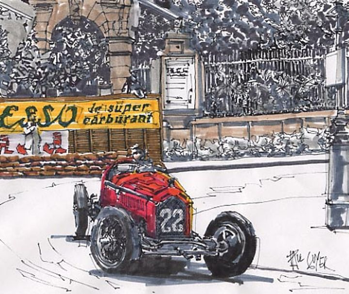 GRAND PRIX RACING - Paul Guyer