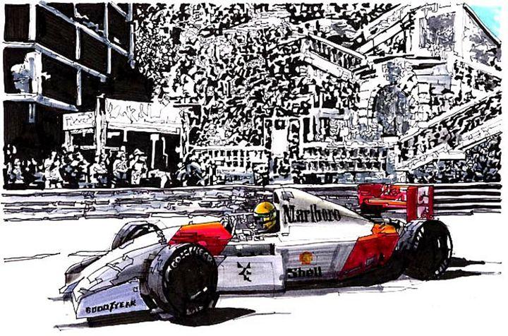 GRAND PRIX RACING - Paul Guyer