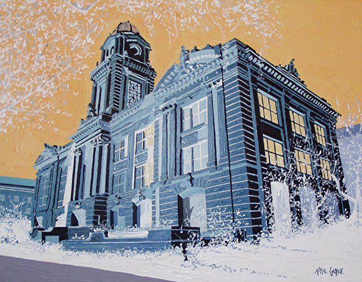 SACRAMENTO CITY HALL - Paul Guyer
