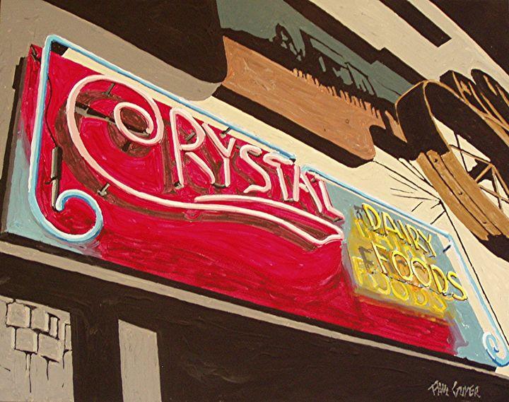 CRYSTAL CREAMERY, SACRAMENTO - Paul Guyer