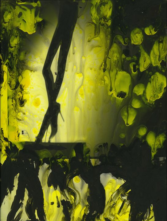 Yellow water color painted photo - edwardolive