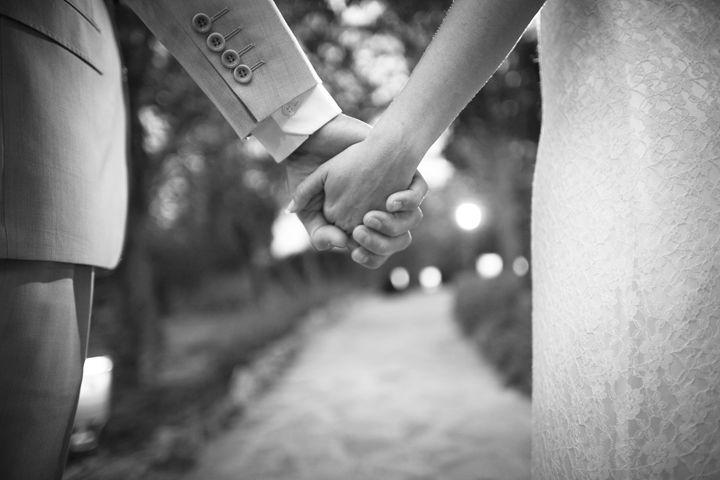 Bride and bridegroom in wedding - edwardolive