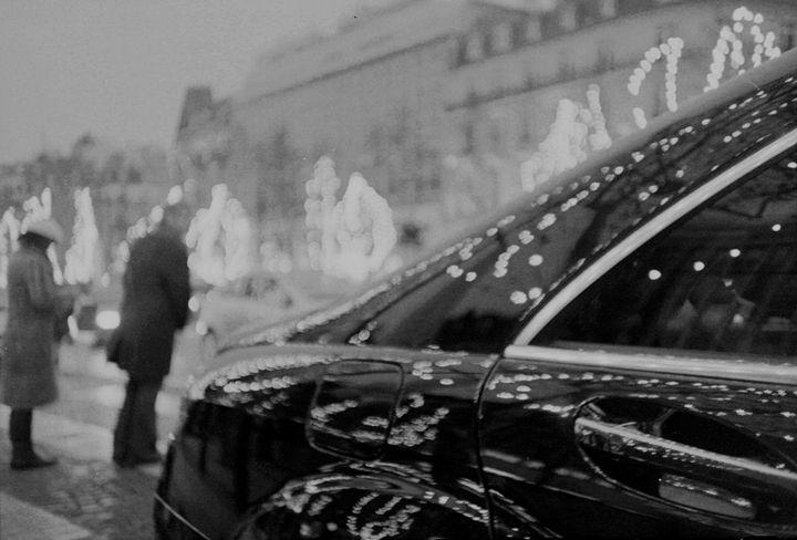 Paris France Champs Elysees Lomo - edwardolive