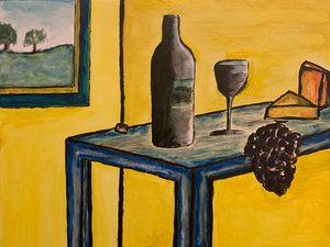 Wine and cheese. - Eamonn KD