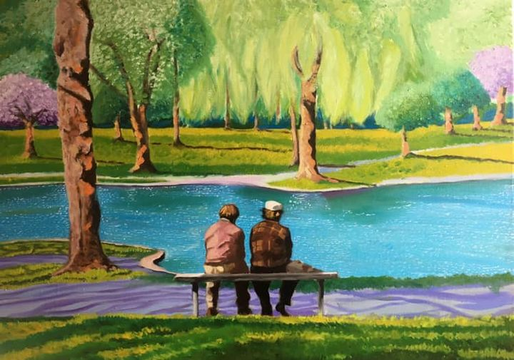 Commissioned Landscape - Freelance Commission Artist Miguel