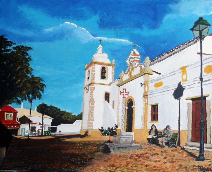 Church in the south of Portugal - Freelance Commission Artist Miguel