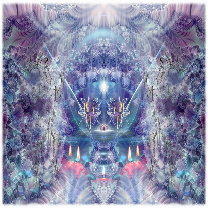 Guarding the Stargate - CrystalWolfe Blends