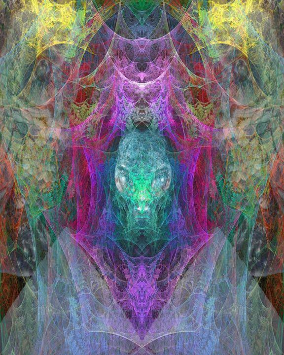 Skull of the Night - CrystalWolfe Blends