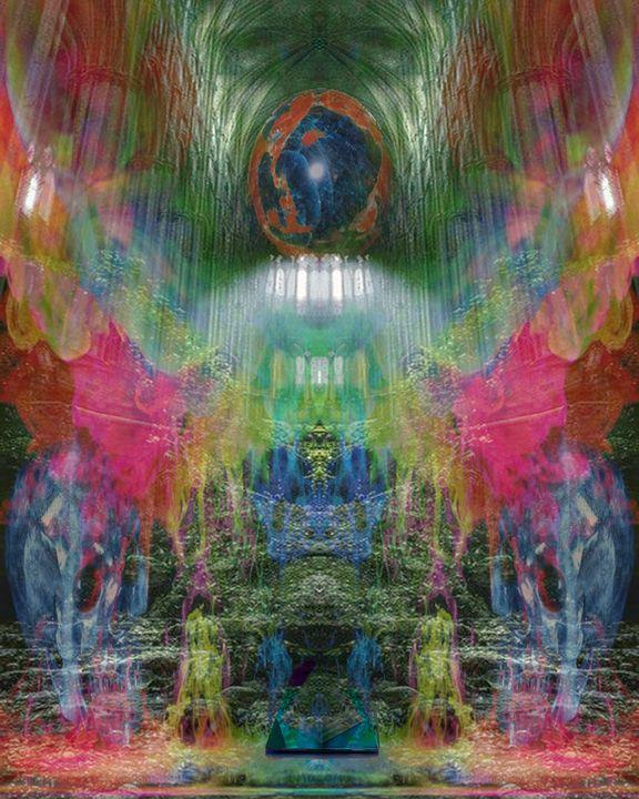 Skulls Window - CrystalWolfe Blends