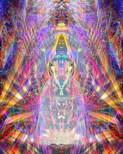 Translucent Buddha