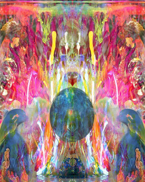 Under Water Skull Magic - CrystalWolfe Blends