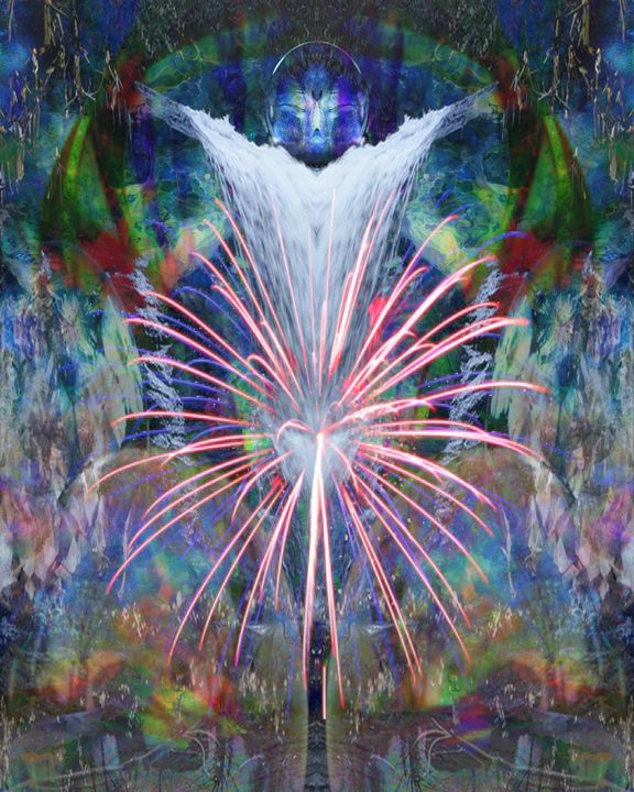 Fireworks Within - CrystalWolfe Blends
