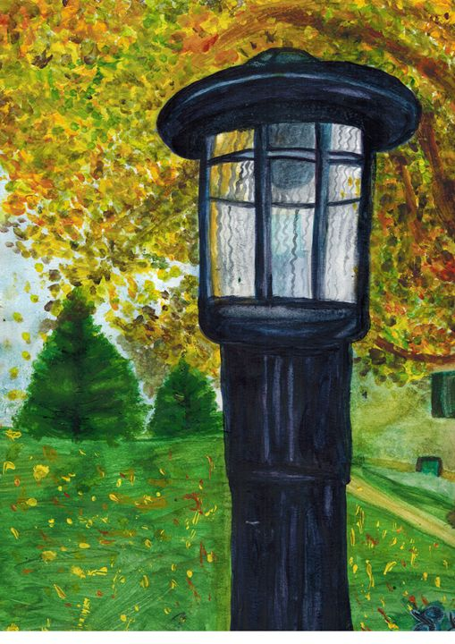 Autumn Lantern - Lilly Limes