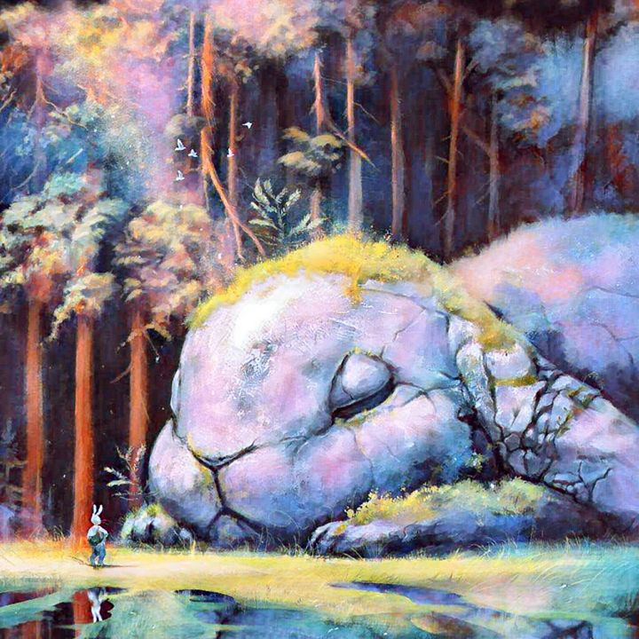 Rabbit rock - Heena Patel