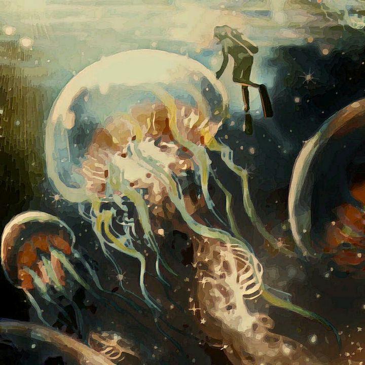 Giant jellyfish - Heena Patel