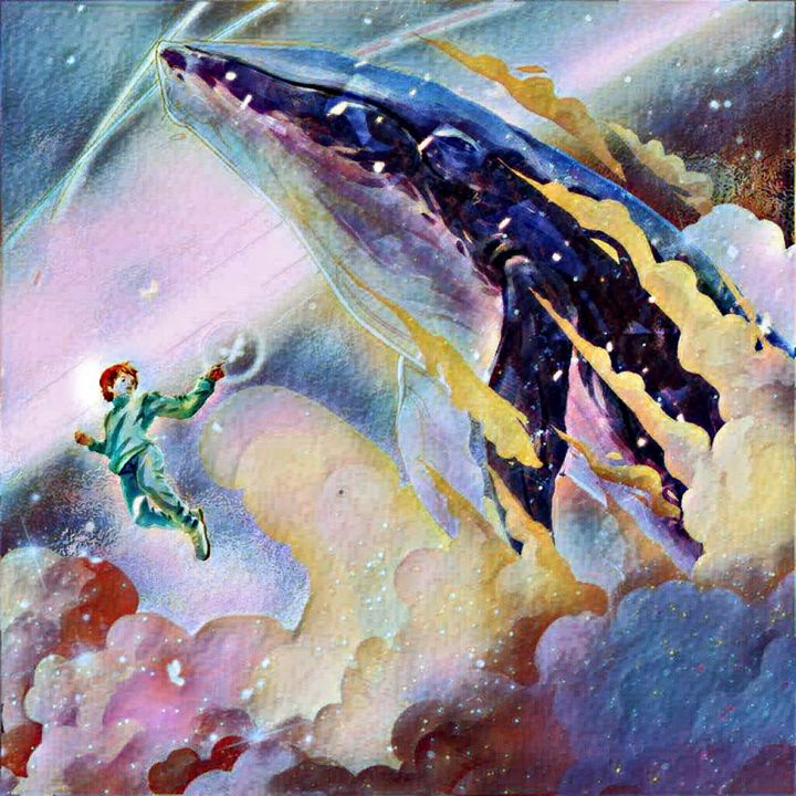 Space whale - Heena Patel