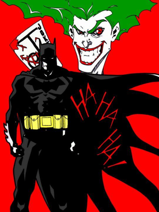Batman and Joker - A.K Rasoul