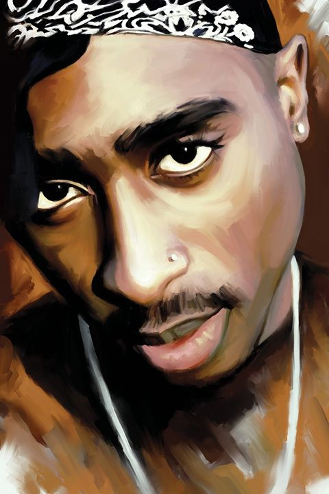 2Pac Tupac Shakur Artwork - August Studios