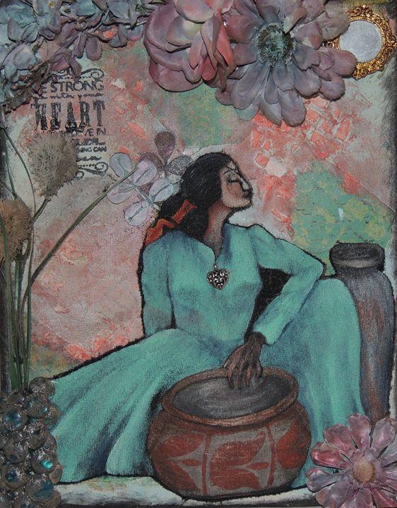 Indian women dreaming - Jamie  Pemberton
