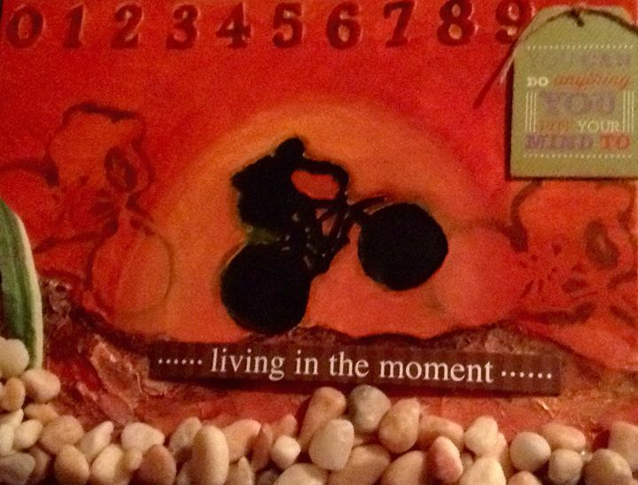Live in the moment - Jamie  Pemberton