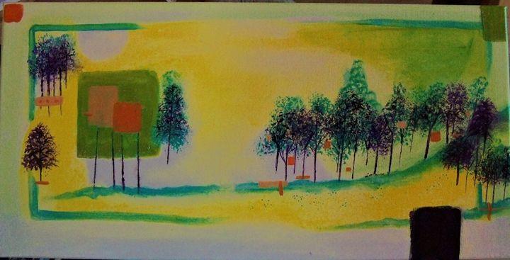 """""""Abstract Landscape"""" - WilderSpirit"""