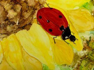 Springtime: Ladybug