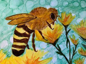 Springtime: Bee