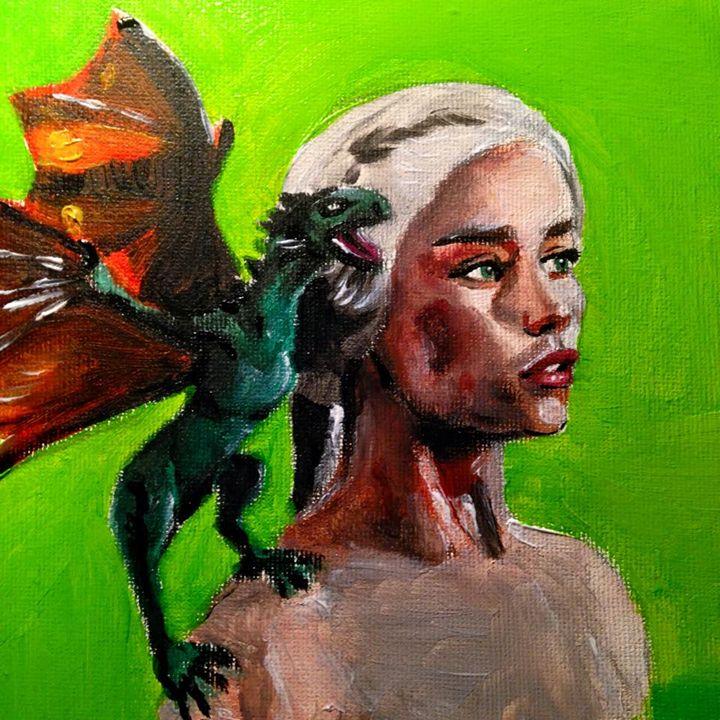 Daenerys -  Diezilustraciones