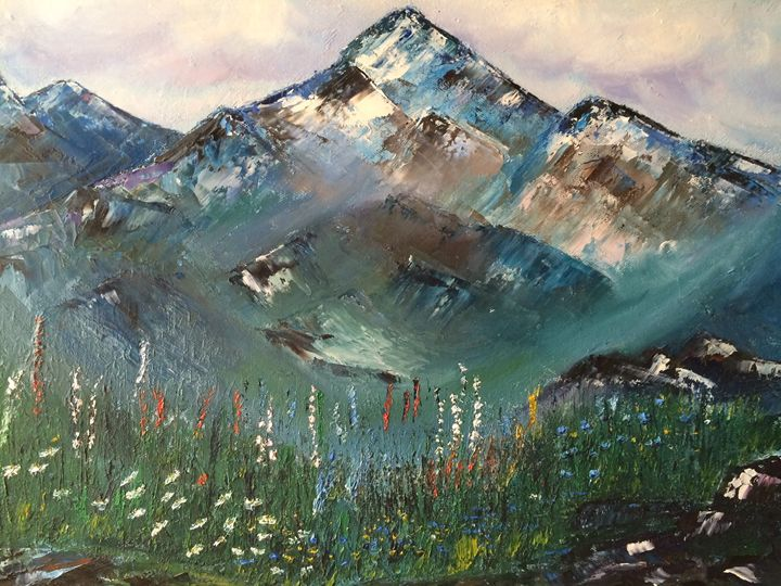My Mountains - The Art Gallery of Kamil Suleyev
