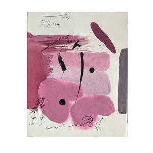 """Bloosom"" Original Abstract Canvas"