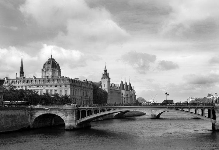 Bridge over Rhine River - Bill Love