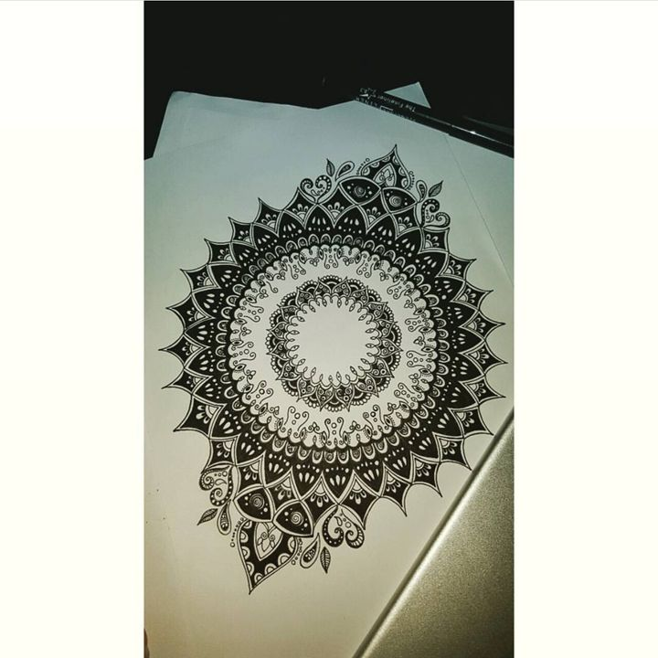 Mandala design. - Aimees