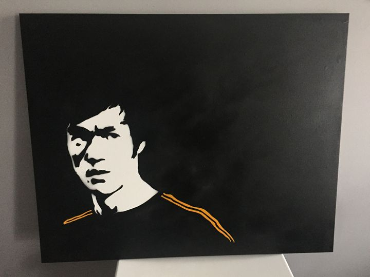 "Bruce Lee ""The Legend"" - Urban Spray Paint by David Owens"