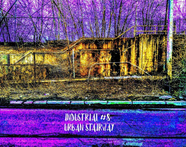 Industrial #8 : Urban Stairway - JA-STUDIOS