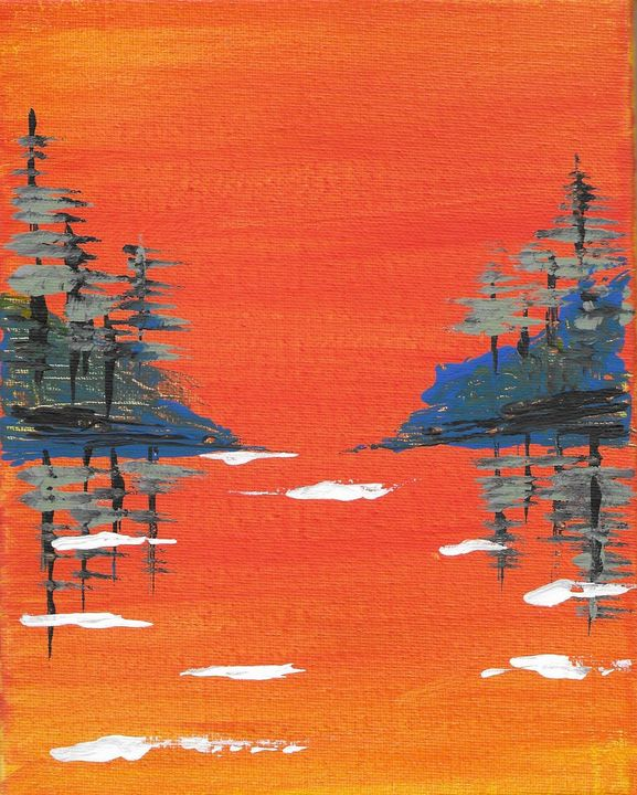 Sunset River - JA-STUDIOS