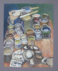 Paint Cans - Pastel