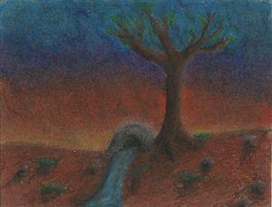 cálido atardecer (warm sunset)
