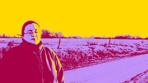 Luciana in the field