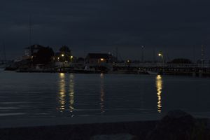 Nighttime in Newport