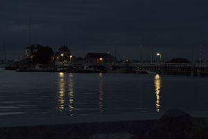 Nighttime in Newport