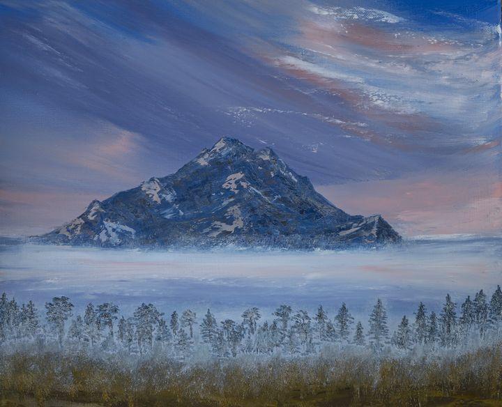 Mountain Peak - FineArtByLoriSolair