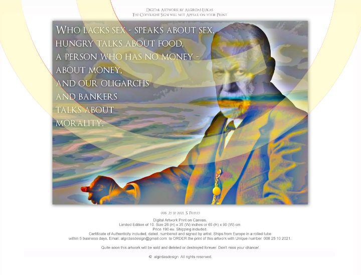 008   25 10 2021  S. Freud - algirdasdesign