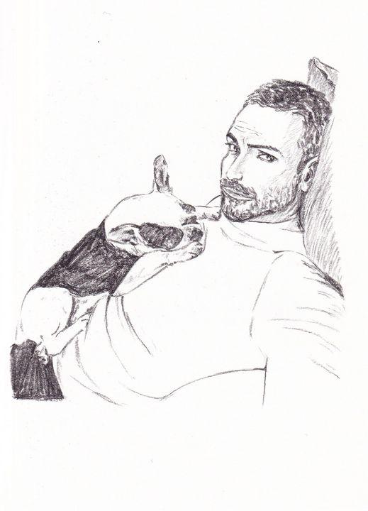 Man and dog - BillyB