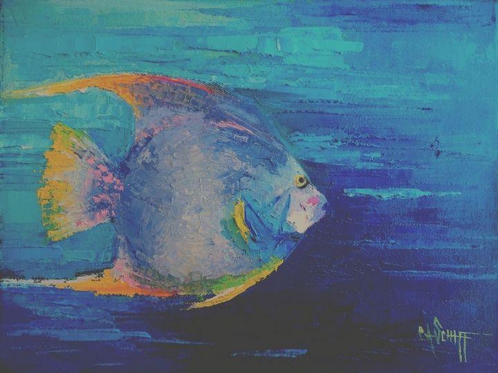 Coral Reef Tropical Fish - Carol Schiff Studio