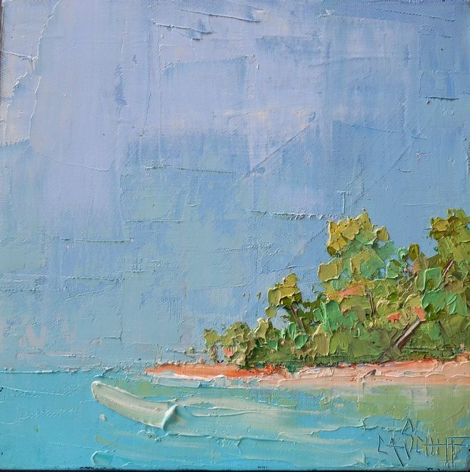 Return to Caribbean Isle - Carol Schiff Studio