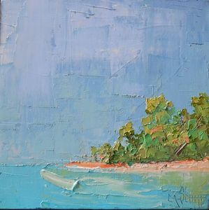 Return to Caribbean Isle - Carol Schiff Studio