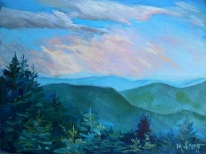 High Country Oil Painting