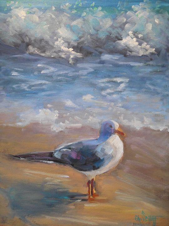 Morning on the Beach - Carol Schiff Studio