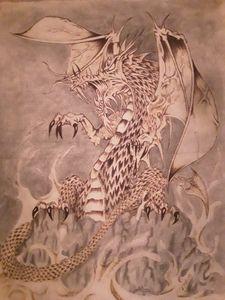 White dragon of Pern
