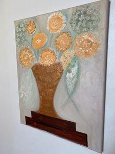 Floral Impressionist oil